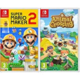 Nintendo Super Mario Maker 2 Switch [Importación inglesa] + Animal Crossing: New Horizons ( Switch)