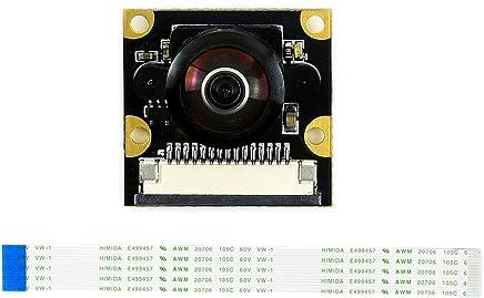 Waveshare 8MP IMX219-D160 Modulo Telecamera grandangolare 160° FoV Compatibile con Raspberry Pi Camera Board V2 Supporto Registrazione Video e risoluzione Foto IMX219-200 Camera - Trova i prezzi più bassi