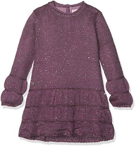 Boboli Mädchen Knitwear Dress for Girl Kleid, Violett (Plum 6090), 140
