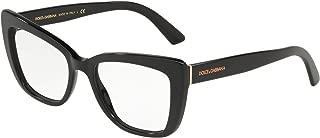 Dolce Gabbana DG3308 Black/Clear Lens Eyeglasses