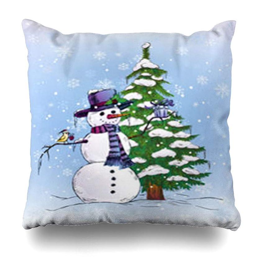 バック毎週女性スロー枕カバークリスマスアブストラクトホリデーツリーブルーヴィンテージブリリアンスブリリアンシーセレブレーションデザイン華やかなホームデコレーションクッションケースSquare18 * 18インチインテリアソファ枕カバー