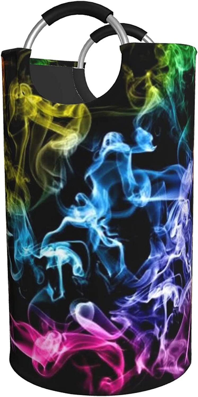 Colorful Smoke Wholesale service Laundry Hamper Waterproof Bag Padde With