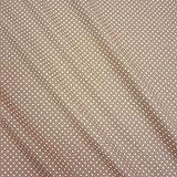Stoff Baumwollstoff Baumwolle Popeline Punkte gepunktet