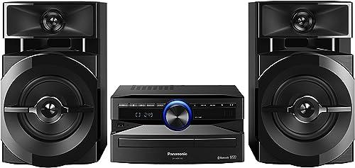 Mini System Panasonic 250W RMS Preto SC-AKX100LBK