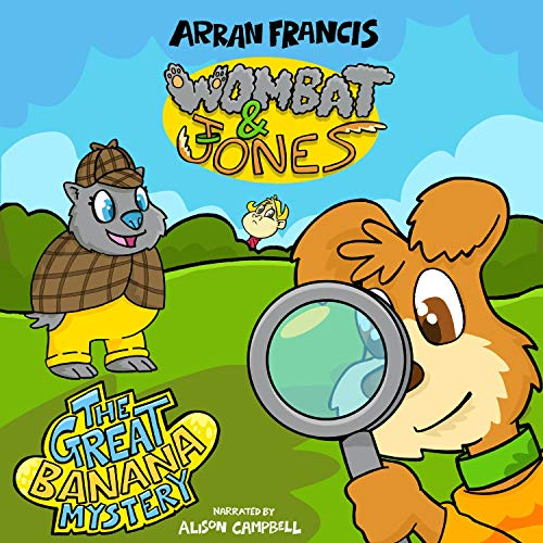 Wombat & Jones: The Great Banana Mystery cover art