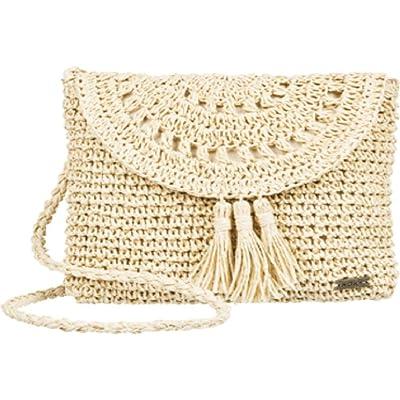 Roxy Say Aloha Purse (Natural) Tote Handbags