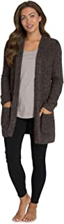 CozyChic Lite Cable Cardi, Heathered