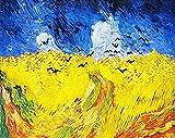 FSKJSZYH Frameless DIY Malen Nach Zahlen Van Goghs Gemälde Abstrakter Impressionismus Art Pictures...