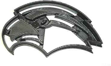 UNIVERSITY OF SOUTHERN MISSISSIPPI MISS GOLDEN EAGLES MASCOT LOGO TEAM SPORTS ATHLETICS SPECIAL OCCASION COOKIE CUTTER BAKING TOOL 3D PRINTED MADE IN USA PR2348