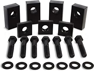 Jeep Wrangler JKU/JLU Black Delrin Plastic Rear Seat Recline Kit with Bolts and Washers