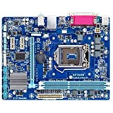XCJ Placa Base Gaming ATX Ajuste para Fit For GIGABYTE GA-H61M-DS2 Motherboard H61 Socket Fit para Fit For LGA 1155 I3 I5 I7 DDR3 16G UATX UEFI BIOS BIOS Original H61M-DS2 Placa Madre