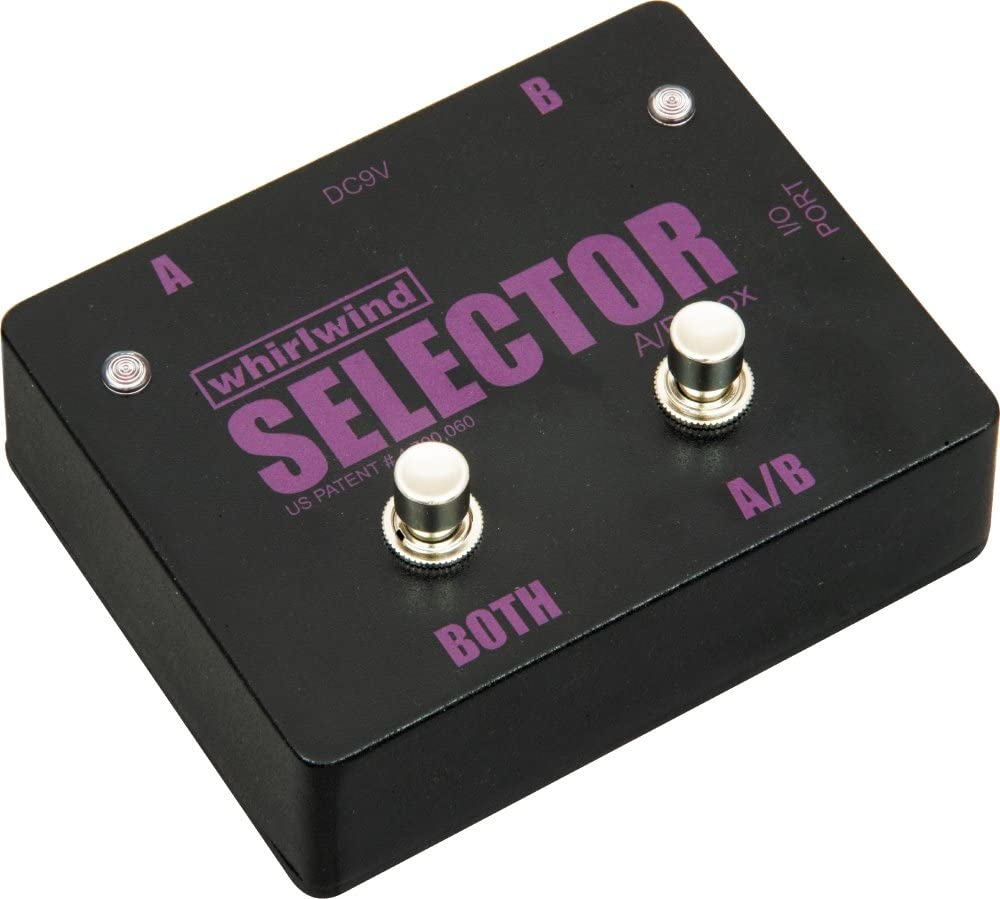 Whirlwind Selector Instrument Switch Channels or B SEAL Safety and trust limited product A and Select