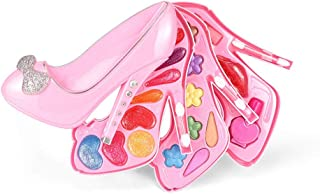 RANRANJJ 女の子のための美しいプリンセスふりメイクキット美容室化粧品玩具セット最高の贈り物 (色 : B)
