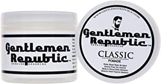 Gentlemen Republic 8oz Grooming Water Based Alcohol Free Classic Hair Pomade