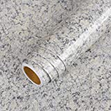 LaCheery 160x24 inch Granite Contact Paper for Countertops Faux Granite Wallpaper Peel and Stick Countertop Contact Paper Decorative Self Adhesive Wall Paper Roll for Kitchen Island Counter Top Covers