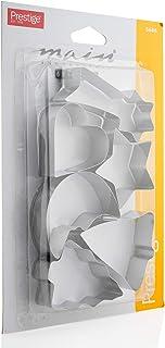 Prestige Biscuit Cutters 6 PiecePR5686,Silver