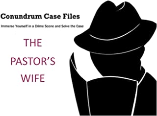 Detective Game – Investigation Game Conundrum Case Files – Family Game for 1-4 Players – Family Game – The Pastors Wife – Fun Family Games with 16 Puzzles to Solve – Code Deciphering Clue Game