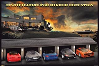 justification for higher education poster