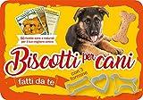Biscotti per cani fatti da te. 50 ricette sane e naturali per il tuo miglior amico...