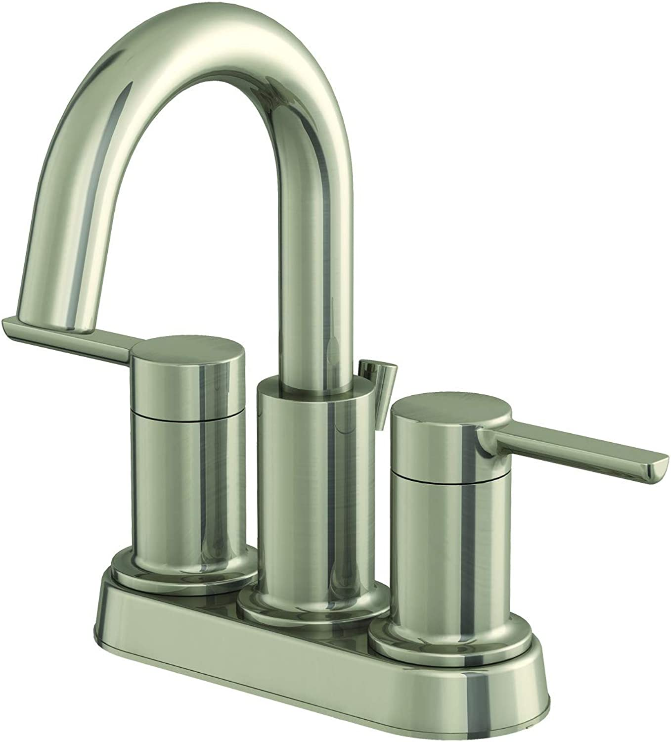EZ-FLO 10681 Bathroom Faucet, Brushed Nickel