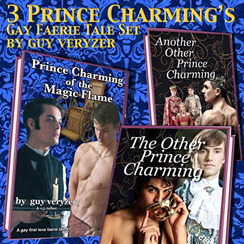 Three Prince Charmings audiobook cover art