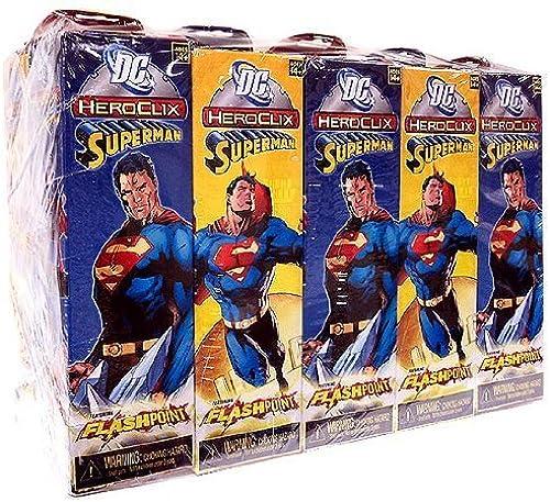 DC HeroClix Superman ClixBrick 10 Booster Packs by HeroClix