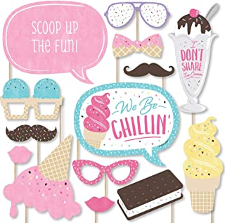 Best ice cream photo booth props Reviews