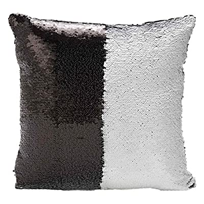BOKOLI NEW Two Tone Glitter Sequins Throw Pillows Decorative Cushion Covers