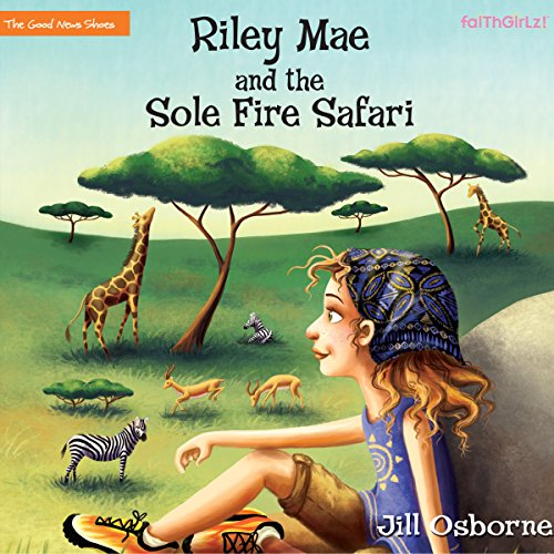 Riley Mae and the Sole Fire Safari audiobook cover art