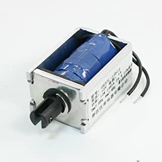 Aexit DC12V (Control electrical) 12W Linear Pull Type Solenoid Electromagnet 2mm 1000g (18ry282qf720) 6mm 400g