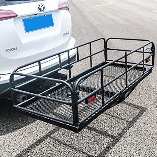 Merax Foldable Cargo Carrier Basket 360 lb Capacity for 2