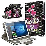 UC-Express Universal Tablet Schutz Hülle 10-10.1 Zoll Tasche Schutzhülle Motiv Hülle Cover, Motiv:Motiv 11, Tablet Modell für:ARCHOS 101c Platinum