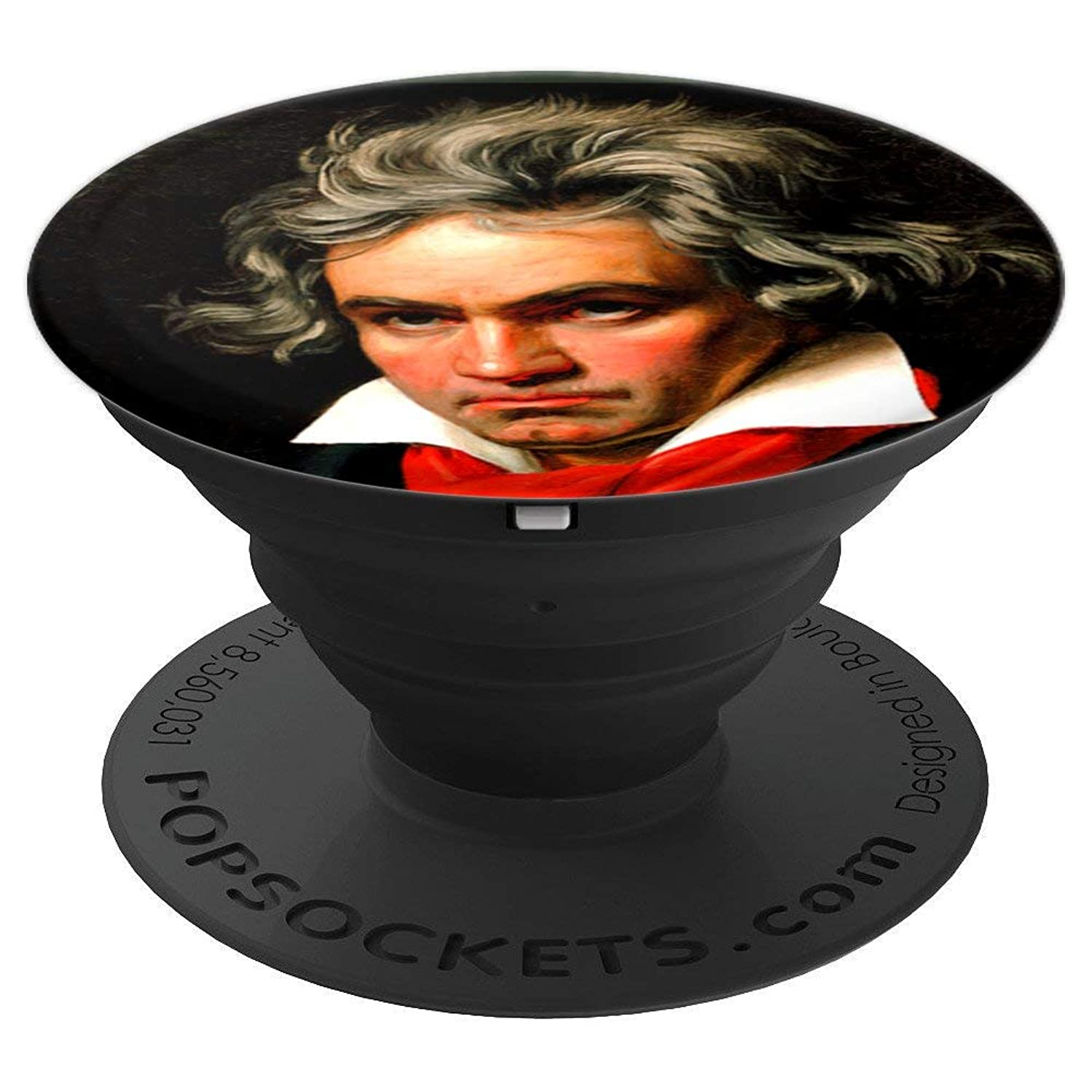Ludwig Van Beethoven Classical Composer Classic Music Lovers - PopSockets Grip and Stand for Phones and Tablets