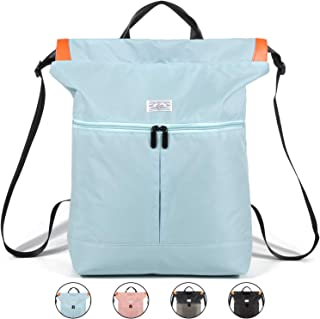 WANDF Drawstring Backpack String Bag Sackpack Cinch Water...