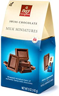 Frey Milk Chocolate Miniatures - 5 oz - 5 Boxes