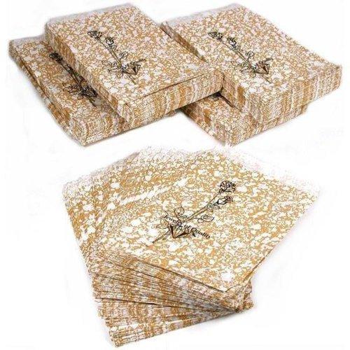 500Gold Geschenk Papier-Staubsaugerbeutel Shopping Sales Tote Taschen 4x 6von FindingKing Halsketten