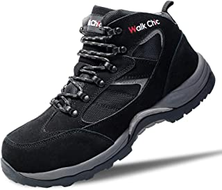 Steel Toe Shoe, Men's Work Safety Outdoor Protection Footwear Industrial & Construction Boots