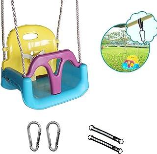 adb5574e648f Columpio de Asiento para bebé, Columpios con Respaldo Alto para niños,  niños pequeños al