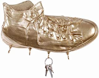 Wall Keychain Sneakers Richie Gold Resin Made in Italy