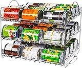 KICHLY Organizador de estante de latas de almacenamiento, organizador de latas...