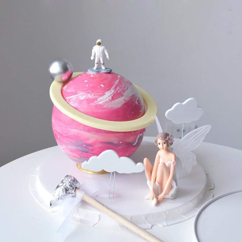 1 Tianayer Fiore Volare Fata Miniature Miniature Fai da Te Fairy Garden Decorazione del Dollhouse Pixie Figura raccoglibile