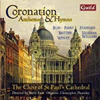 Coronation Anthems & Hymns by CHRISTOPHER CHOIR OF ST. PAUL's CATHEDRAL / DEARNLEY (1995-03-28)