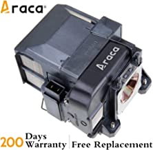 ELPLP75 Projector Lamp with Housing for Epson PowerLite 1940W 1945W 1950 1960 1965 1955 EB-1945W EB-1960 Replacement Lamp by Araca
