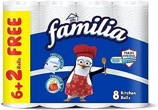 Familia Kitchen Rolls - 8 Rolls