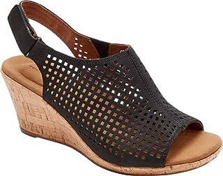 ROCKPORT BRIAH PERF SLING womens Wedge Sandal