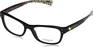 Women's HC6082 Eyeglasses Black/Wild Beast 53mm, 53/17/135