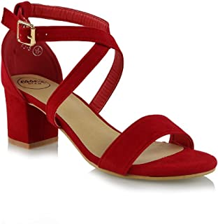 925084dce50 Amazon.co.uk: Red - Sandals / Women's Shoes: Shoes & Bags