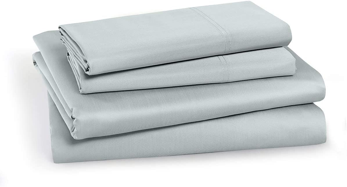 100-Percent Cotton Percale Queen Finally Max 83% OFF popular brand Size 4PC Set Sheets C Soft and