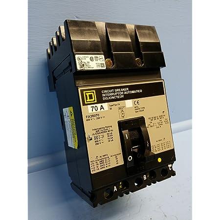 SQUARE D FA26060AB 60 AMP 600 VOLT 2 POLE I-LINE BREAKER