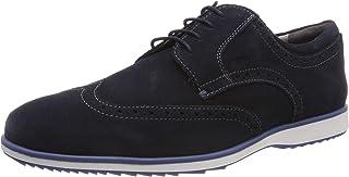 Geox U Blainey A, Zapatos de Cordones Brogue Hombre
